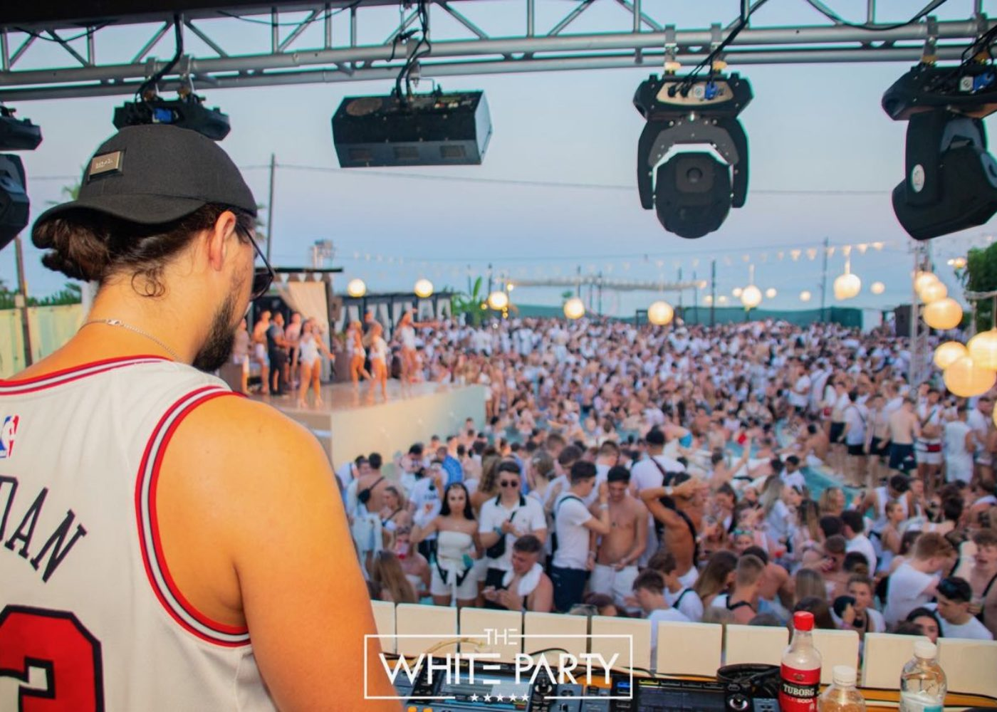 sonny fodera white party
