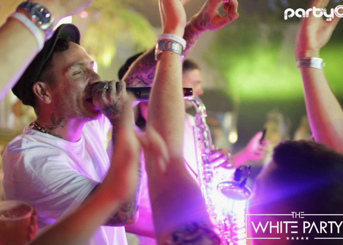 white party mc